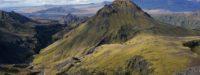 Útigönguhöfði and Hvannárgil canyon, hiking trail, Þórsmörk, Iceland